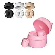 LITBest S-62 Fülben Bluetooth Fejhallgatók Fülhallgató ABS + PC Mobiltelefon Fülhallgató Mikrofonnal / Töltődobozzal Fejhallgató