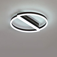 billige Taklamper-CONTRACTED LED® 2-Light Sirkelformet / Originale Skyllmonteringslys Nedlys Børstet Aluminum Kreativ, Nytt Design 110-120V / 220-240V Varm Hvit / Hvit