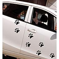 cheap Car Stickers-White / Black Car Stickers Cartoon / Sports / Cute Door Stickers / Car Tail Stickers Cartoon Stickers
