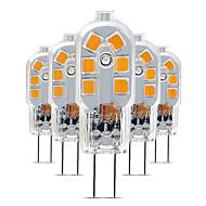 billige Bi-pin lamper med LED-5pcs 3 W 200-300 lm G4 LED-lamper med G-sokkel T 12 LED perler SMD 2835 Smuk 220-240 V