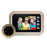 billige Dørtelefonssystem med video-Factory OEM Trådløs Innebygd Ut-høytaler ≤3 tommers Håndfri En Til En Video Dørtelefon