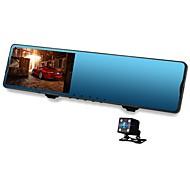 お買い得  車載DVR-Vasens 168P 720p / 1080p 新デザイン / デュアルレンズ 車のDVR 170度 広角の CMOS 4.3 インチ LCD ダッシュカム とともに WIFI / G-Sensor / 駐車モード 非対応 カーレコーダー