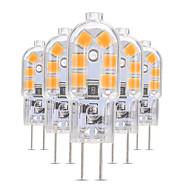 billige Bi-pin lamper med LED-5pcs 3 W 200-300 lm G4 / G8 LED-lamper med G-sokkel T 12 LED perler SMD 2835 Smuk 12 V