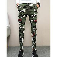 Pánské Armáda Kalhoty chinos Kalhoty maskování