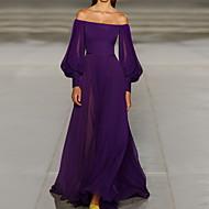 Жен. С летящей юбкой Платье С открытыми плечами Макси