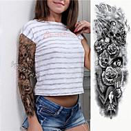 1 pcs dočasné tetování Šetrný vůči životnímu prostředí / Jednorázová Tělo / paže / Noha Lepenkový papír Tetovací nálepky
