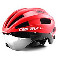 levne -CAIRBULL Cyklistická přilba s brýlemi 22 Větrací otvory CE EN 1077 Ventilace Síť proti hmyzu Integrálně tvarovaná EPS Sportovní Horské kolo Silniční cyklistika - Černobílá Zelená a černá Černá a modrá