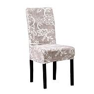 Potah na židli Květinový S potiskem Polyester potahy