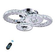 رخيصةأون -أضواء على السقف ضوء محيط آخرون معدن كريستال, LED 110-120V / 220-240V أصفر / أبيض / ديمابل مع جهاز التحكم عن بعد