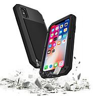tok Για Apple iPhone XS / iPhone XR / iPhone XS Max Αδιάβροχη / Ανθεκτική σε πτώσεις / Προστασία από τη σκόνη Πλήρης Θήκη Πανοπλία Σκληρή Ψημένο γυαλί / Μεταλλικό για iPhone XS / iPhone XR / iPhone
