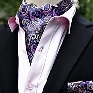 Herre Grunnleggende Slips og halstørkle - Trykt mønster, Geometrisk