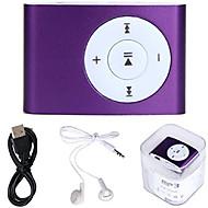 USB נייד מיני נגן תמיכה 32GB כרטיס מיקרו SD SD עם אוזניות