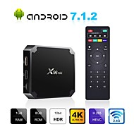 お買い得  -X96 mini TV Box Android7.1.1 TV Box Amlogic S905W 1GB RAM 8GB ROM クアッドコア