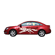 3d wolf totem decals auto stickers full body auto styling vinyl sticker sticker voor auto's decoratie