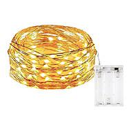 billige -10 m Lysslynger 100 LED SMD 0603 Varm hvit / Hvit / Multifarget Vanntett / Fest / Dekorativ Batterier drevet 1pc