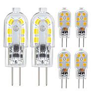 ZDM® 6pcs 2.5 W LED-lamper med G-sokkel 200/250 lm G4 12 LED perler SMD 2835 Varm hvit Kjølig hvit 12 V