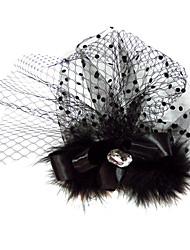 Недорогие -тюль атлас фашификаторы головной убор элегантный классический женский стиль