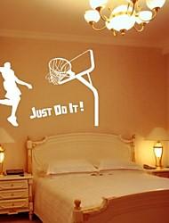 basketball dekorative mærkat (0565-1105079)
