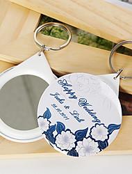 Have tema nøglering favoriserer plast nøgleringe-stykke / sæt bryllup favoriserer