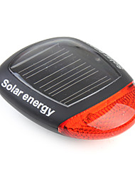 REAR BIKE LIGHT 3 Mode Solar Power Energy Rechargeable Bicycle Tail Light with 2 Red LEDs XC-909