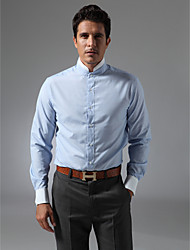 cheap -Men's Stylish Tailored Fit Shirt - Solid Colored