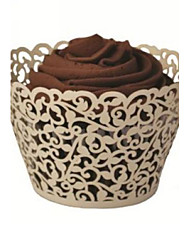 cheap -Creative Card Paper Favor Holder With Cupcake Wrapper and Boxes-12