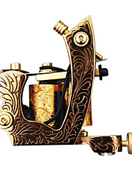 Delicate Cast Iron 10-wrap Coil Tattoo Machine Shader
