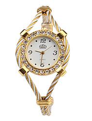 Mujer Reloj de Moda Reloj de Pulsera Reloj Pulsera Cuarzo Banda Múltiples Colores Blanco