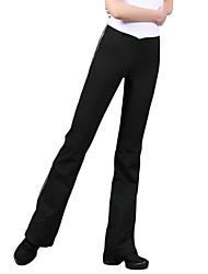 abordables -Pantalones y Faldas Mujer Algodón Cintura Media