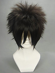 cheap -Cosplay Wigs Naruto Sasuke Uchiha Anime Cosplay Wigs 30 CM Heat Resistant Fiber Men's