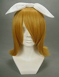 cheap -Cosplay Wigs Vocaloid Kagamine Rin Anime/ Video Games Cosplay Wigs 40 CM Heat Resistant Fiber Women's