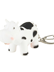 cheap -Cow Keychain with LED Flashlight and Sound Effects