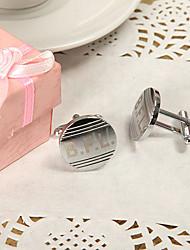 baratos -Liga de Zinco Botões de Punho e Clipes de Gravata Noivo Padrinho do Noivo Casamento Aniversário