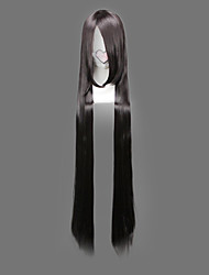 Cosplay Wigs One Piece Boa Hancock Black Extra Long Anime Cosplay Wigs 120 CM Heat Resistant Fiber Female