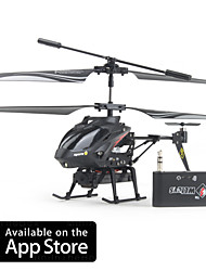 cheap -iCam Helicopter with 0.3 Megapixel Camera for iPhone, iPad and Android (Black)