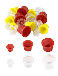 500 Pcs Mixed Tattoo Inks Cups