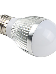 preiswerte -E26/E27 LED Kugelbirnen A50 3 Leds Integriertes LED 510lm Natürliches Weiß AC 85-265