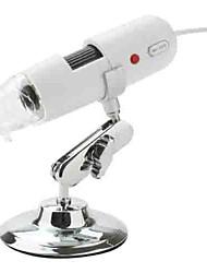Недорогие -200x 1,3-мегапиксельная USB цифровой микроскоп коэффициент увеличения с 8 главе