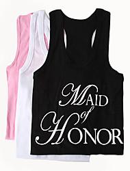 baratos -100% algodão Vestuário Dama de Honor Casamento -
