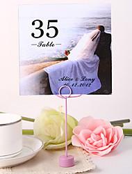 billige -personlig firkantet bord nummer kort - sammen bryllupsreception