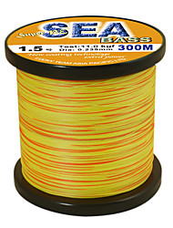 cheap -300M / 330 Yards PE Braided Line / Dyneema / Superline Fishing Line 80LB / 75LB / 65LB