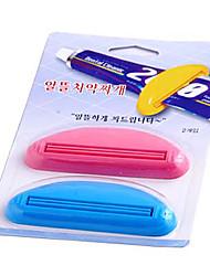 abordables -dispositivo de extrusión de pasta de dientes (2 piezas)