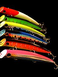 1 pcs Poissons nageur/Leurre dur Popper leurres de pêche Poissons nageur/Leurre dur Popper Vert Orange Incarnadin Jaune Bleu Rouge 18 g/