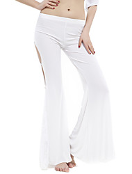 cheap -Belly Dance Bottoms Women's Training Crystal Cotton Lace Natural Pants