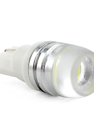 cheap -T10 1W High Power 50LM LED White Light Bulb for Car (2pcs) High Quality