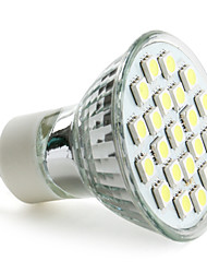 cheap -3W 6000 lm GU10 LED Spotlight MR16 21 leds SMD 5050 Natural White AC 220-240V
