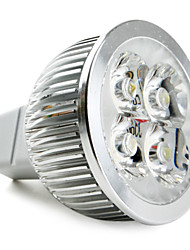 GU5.3(MR16) LED Spotlight MR16 4 High Power LED 360lm Natural White 5000K DC 12V