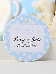 """povoljno -personaliziranu naklonost - plava """"hvala"""" (set od 36) vjenčanja"""