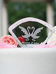 abordables -Decoración de Pasteles Tema Jardín Vacaciones Tema Clásico Boda Material Cristal Fiesta Fiesta / Noche con Sí
