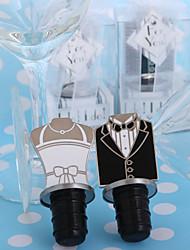 Недорогие -я делаю! я делаю! Жених и невеста бутылочных пробок (набор из 2)